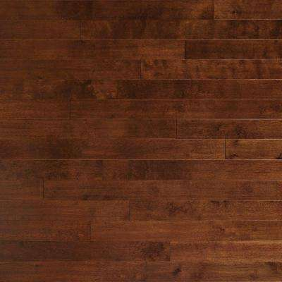 Scraped Birch Topaz 3/8 in. Thick x 4-3/4 in. Wide x Random Length Engineered Click Hardwood Flooring (33 sq. ft. /case)