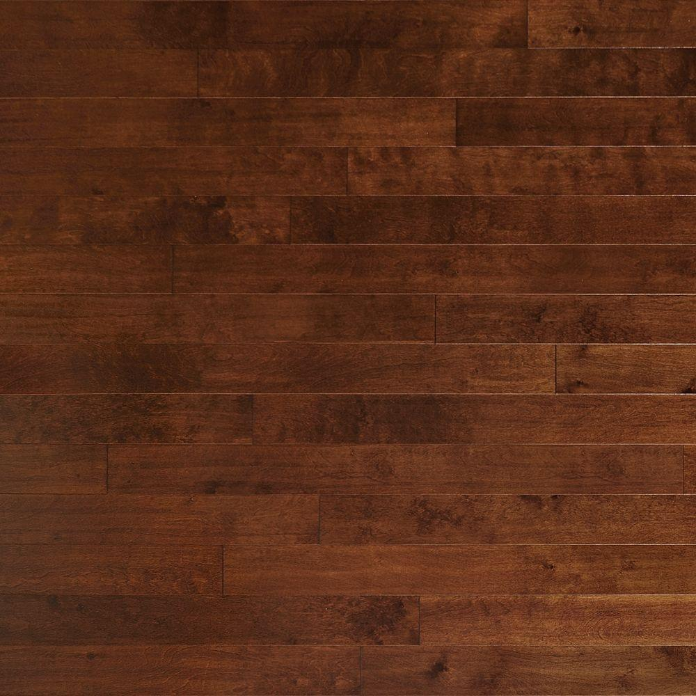 Heritage mill scraped american birch topaz 1 2 in thick x for Birch hardwood flooring