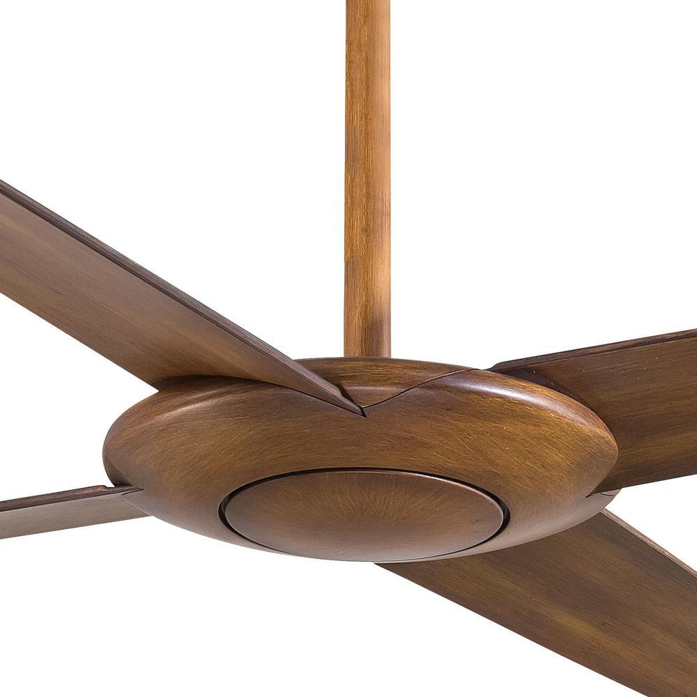 Indoor Distressed Koa Ceiling Fan