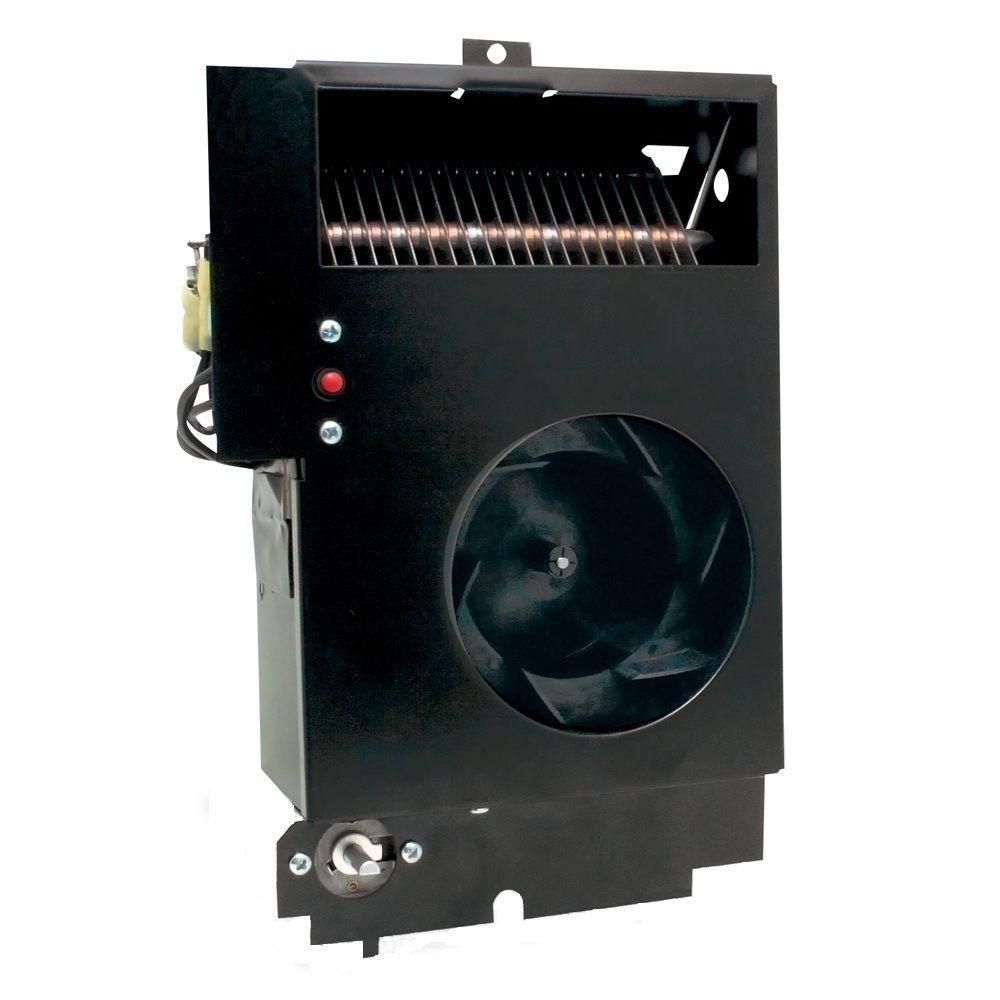 Cadet Com-Pak Max Multi-Watt 240-Volt Fan-Forced Wall Heater Assembly Only with Thermostat