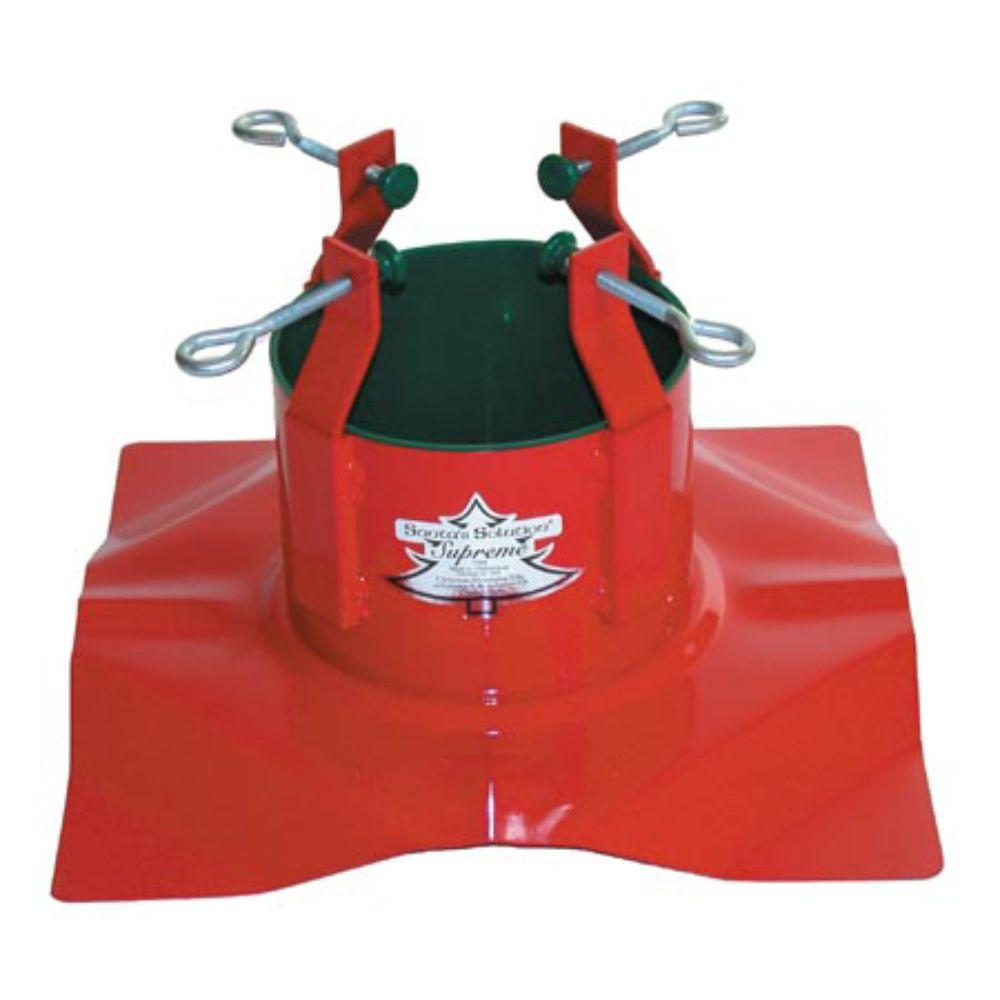 Santa S Solution Steel Supreme Tree Stand With Turn