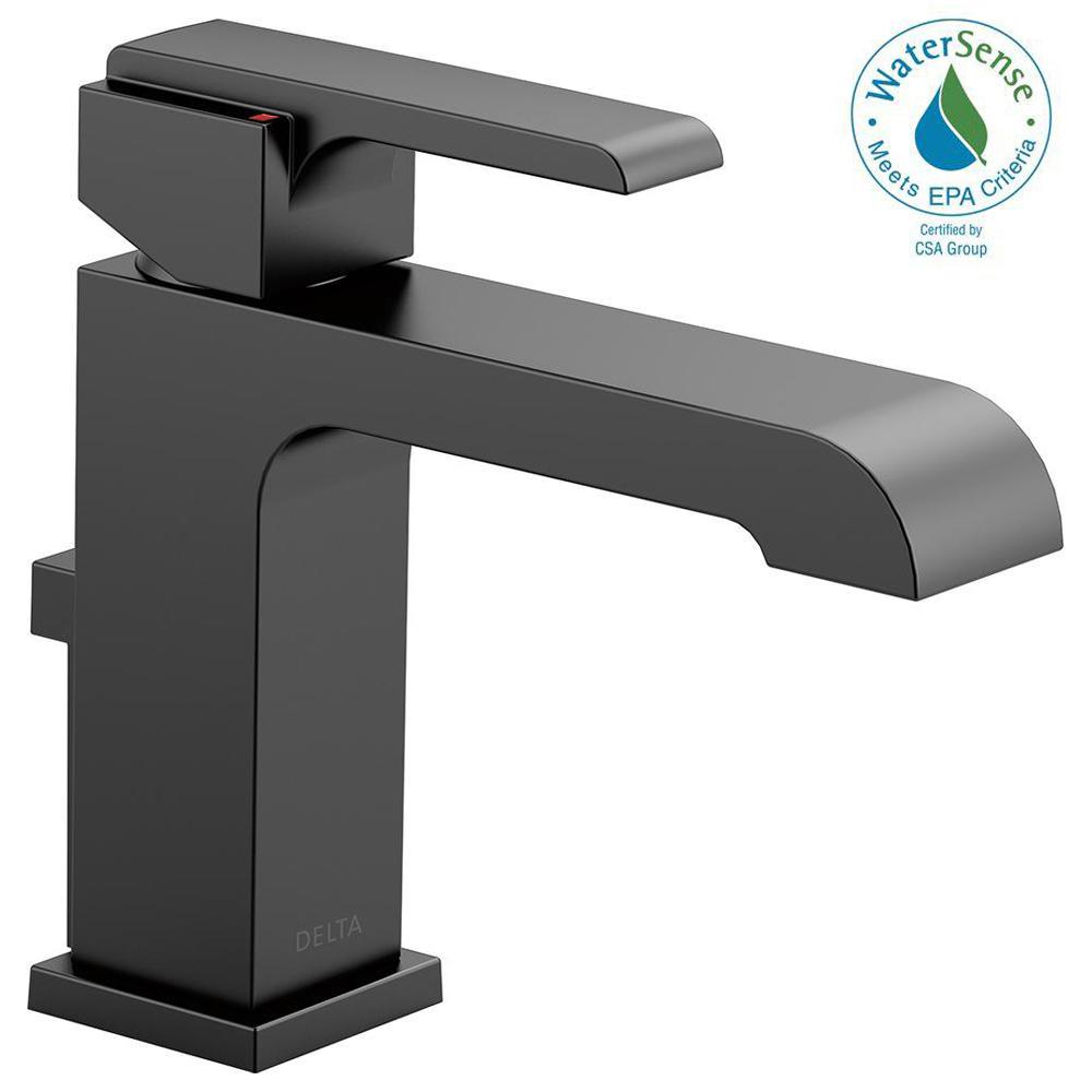 Ara Single Hole Single-Handle Bathroom Faucet with Metal Pop-Up in Matte