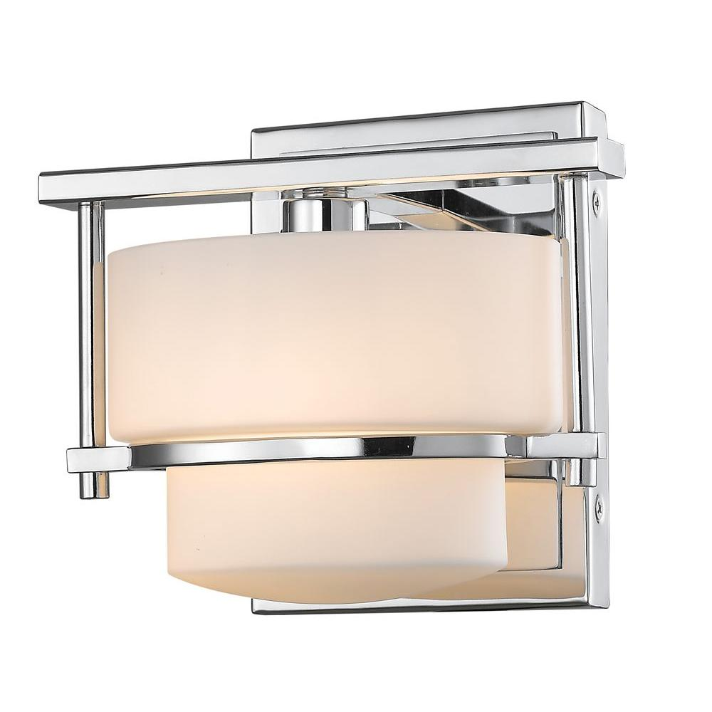 Christen 1-Light Chrome Sconce