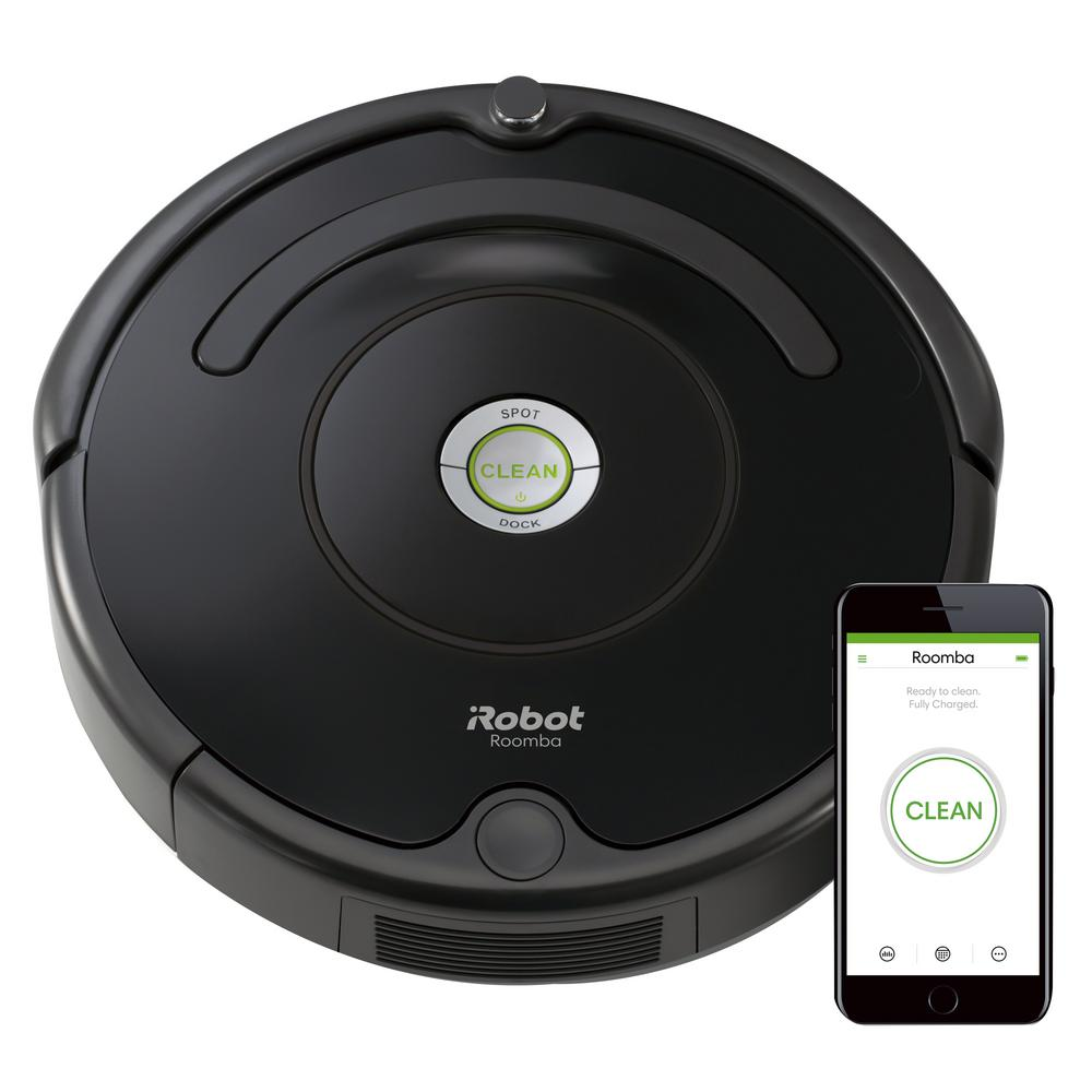 iRobot Roomba 675 Wi-Fi Connected Robot Vacuum Cleaner ...
