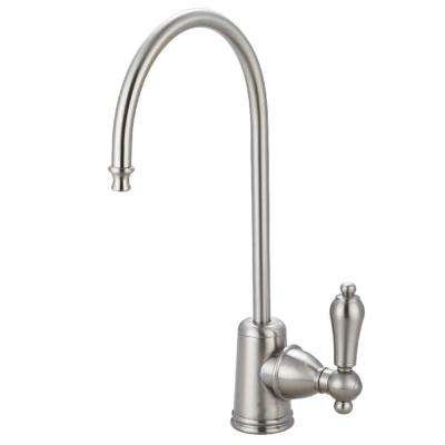 Replacement Drinking Water Single-Handle Beverage Faucet in Brushed Nickel for Filtration Systems