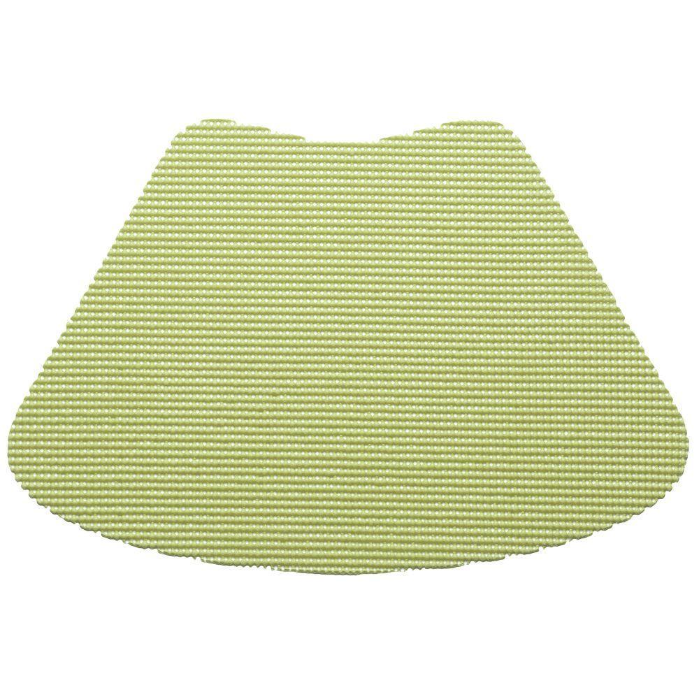 Kraftware Fishnet Wedge Placemat in Mist Green (Set of 12) by Kraftware