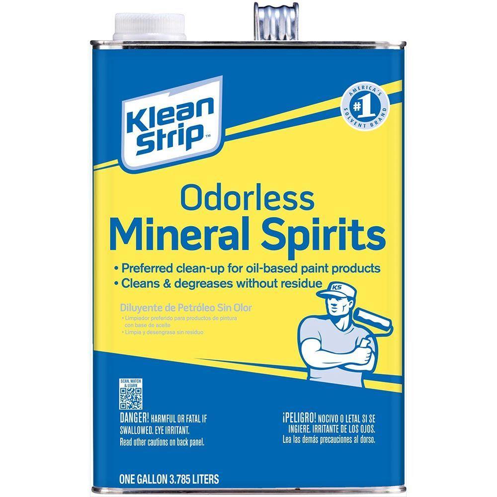 Klean strip low odor mineral spirits
