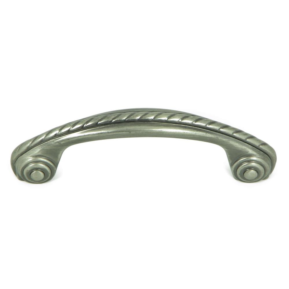 Aged Metal - Drawer Pulls - Cabinet Hardware - The Home Depot