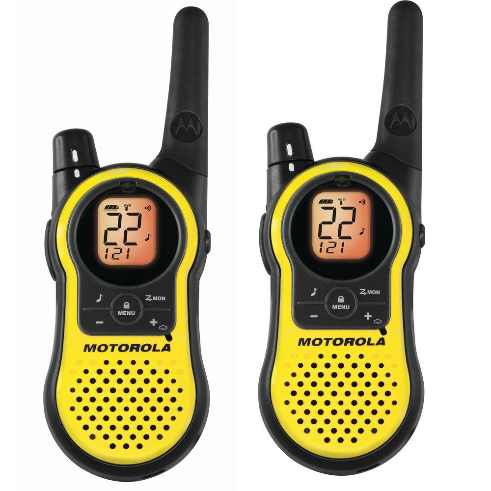 Motorola 2-Way Radio 23 Mile Range