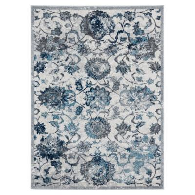 Sicily Grey 12 ft. 6 in. x 15 ft. Area Rug