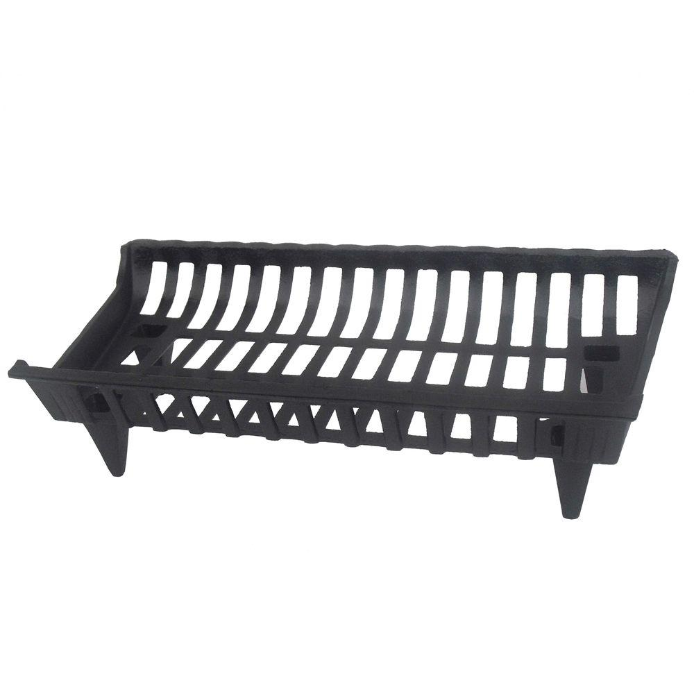 30 In Cast Iron Grate Coated High Temperature Paint Design Keeps Together New