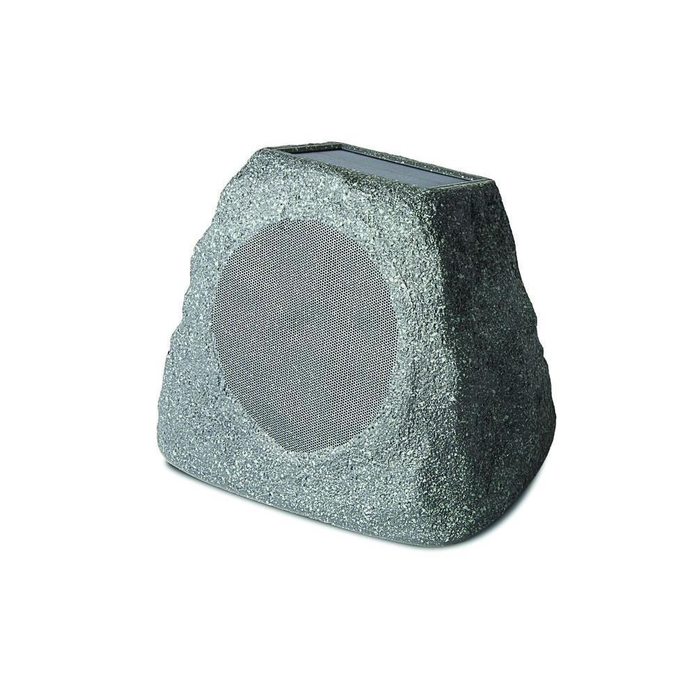 Ion Audio Solar Stone Outdoor Rock Speaker With Solar