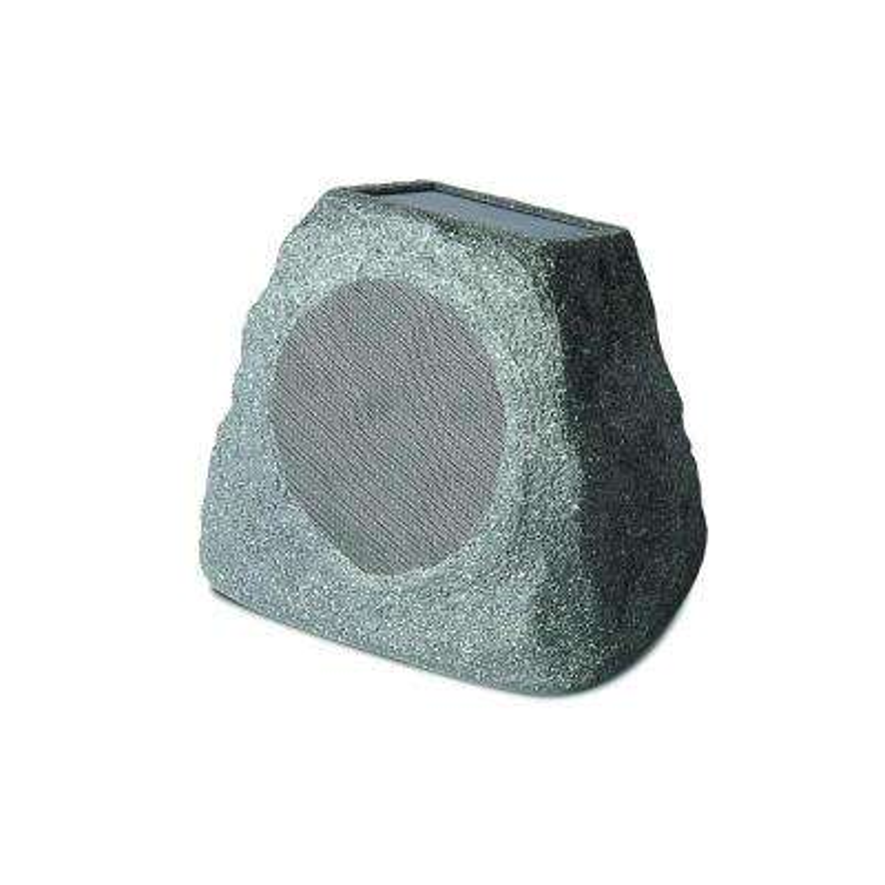 Audio Solar Stone Outdoor Rock Speaker with Solar Panel