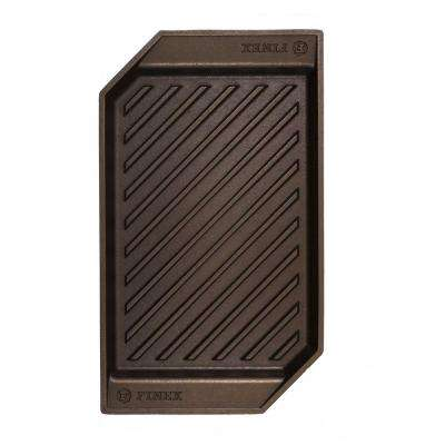 15 in. Cast Iron Lean Grill Pan