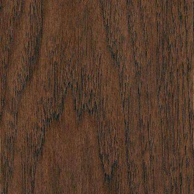 Take Home Sample - Wire Brushed Benson Hickory Click Lock Hardwood Flooring - 5 in. x 7 in.