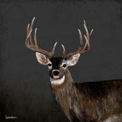 "38 in. x 38 in. ""Country Buck"" ""By Valentino Bustos"" Hand Painted Boxed Canvas Wall Art"