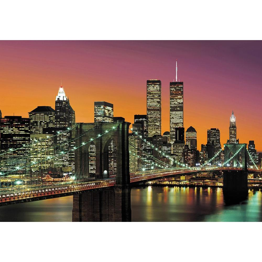 ideal decor 144 in h x 100 in w new york city wall mural dm139