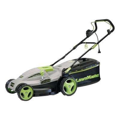 15 in. 2-in-1 Mulching Corded Electric Walk Behind Push Mower