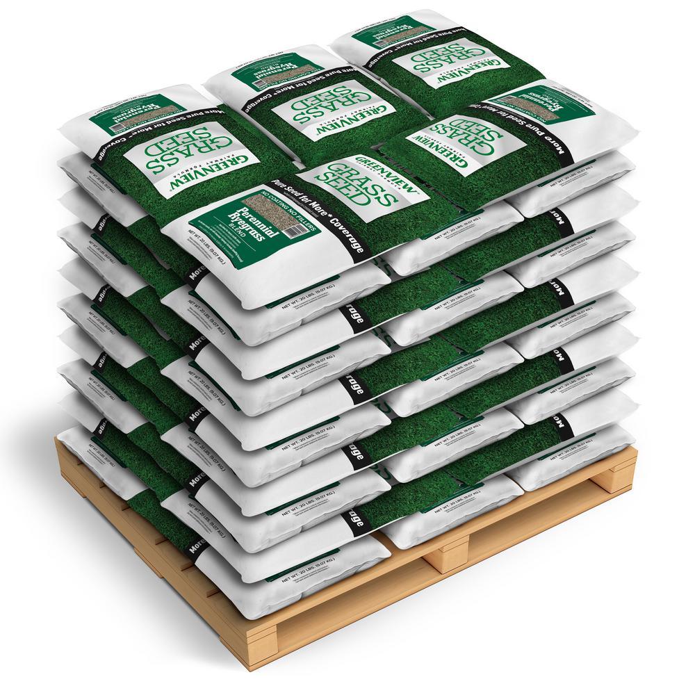 20 lbs. Fairway Formula Grass Seed Perennial Ryegrass Blend (50-Bags/250,000 sq. ft./Pallet)