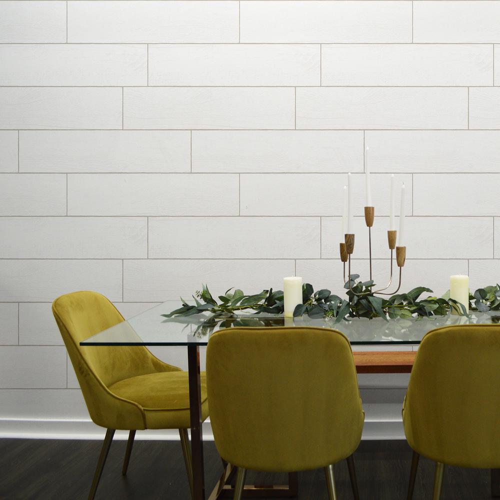 Repeel Textured Shiplap Planks Vinyl Peelable Wallpaper Covers 28 Sq Ft Rp492 The Home Depot