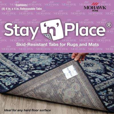 4 in. x 4 in. Multi-Surface Carpet Tile Tabs