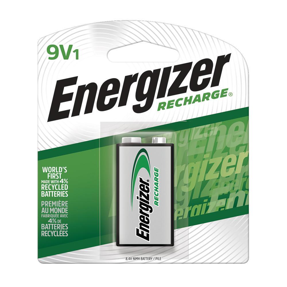 Energizer Energizer Rechargeable 9 Volt Batteries Nimh 175mah 1 Pack Nh22nbp The Home Depot
