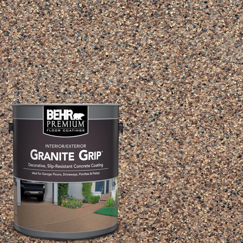 1 Gal. #GG-15 Amethyst Decorative Flat Interior/Exterior Concrete Floor Coating