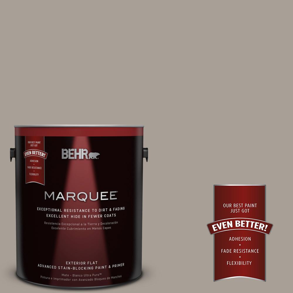 1 gal. #PPU24-09 True Taupewood Matte Exterior Paint