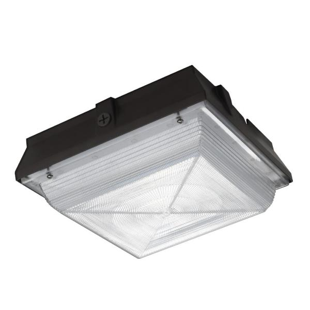 150-Watt Equivalent Integrated LED Outdoor Security Light, 2200 Lumens, Canopy Light and Area Light