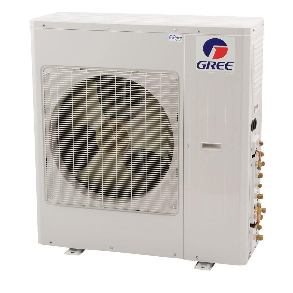 Ultra Series 5 Zone 39,600 BTU 3.5 Ton Wi-Fi Ductless Mini Split Air Conditioner & Heat Pump w/ 25 ft. Install Kit-230V