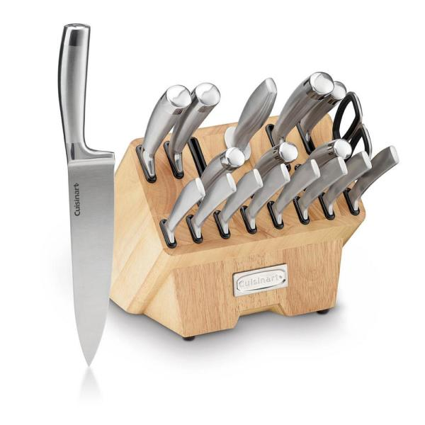 Normandy Collection 19-Piece Cutlery Block Set