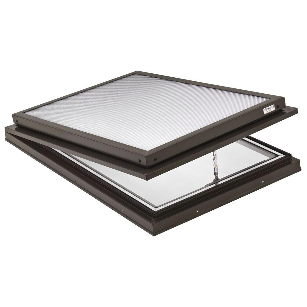Prismatic 2 ft. x 3 ft. Venting Curb-Mounted Flat Skylight