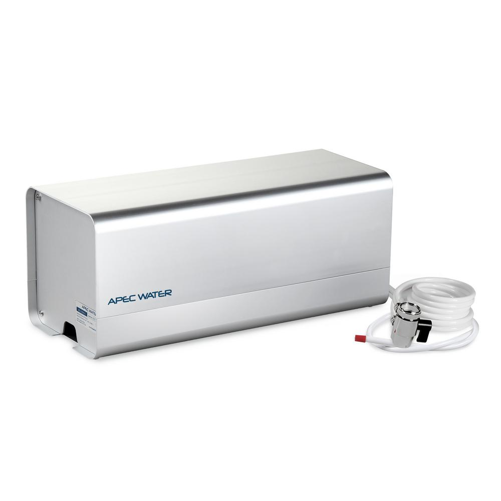 Apec Water Systems Ultimate Counter Top Reverse Osmosis Filtration System With Case 90 Gpd 4