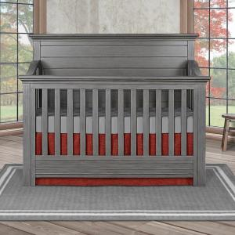 Waverly Rustic Grey 5-in-1 Convertible Crib
