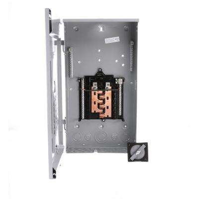 125 Amp 12-Space 24-Circuit Main Lug Outdoor Load Center