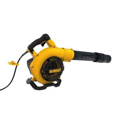 12 Amp Corded Electric 189 MPH 409 CFM Handheld Leaf Blower