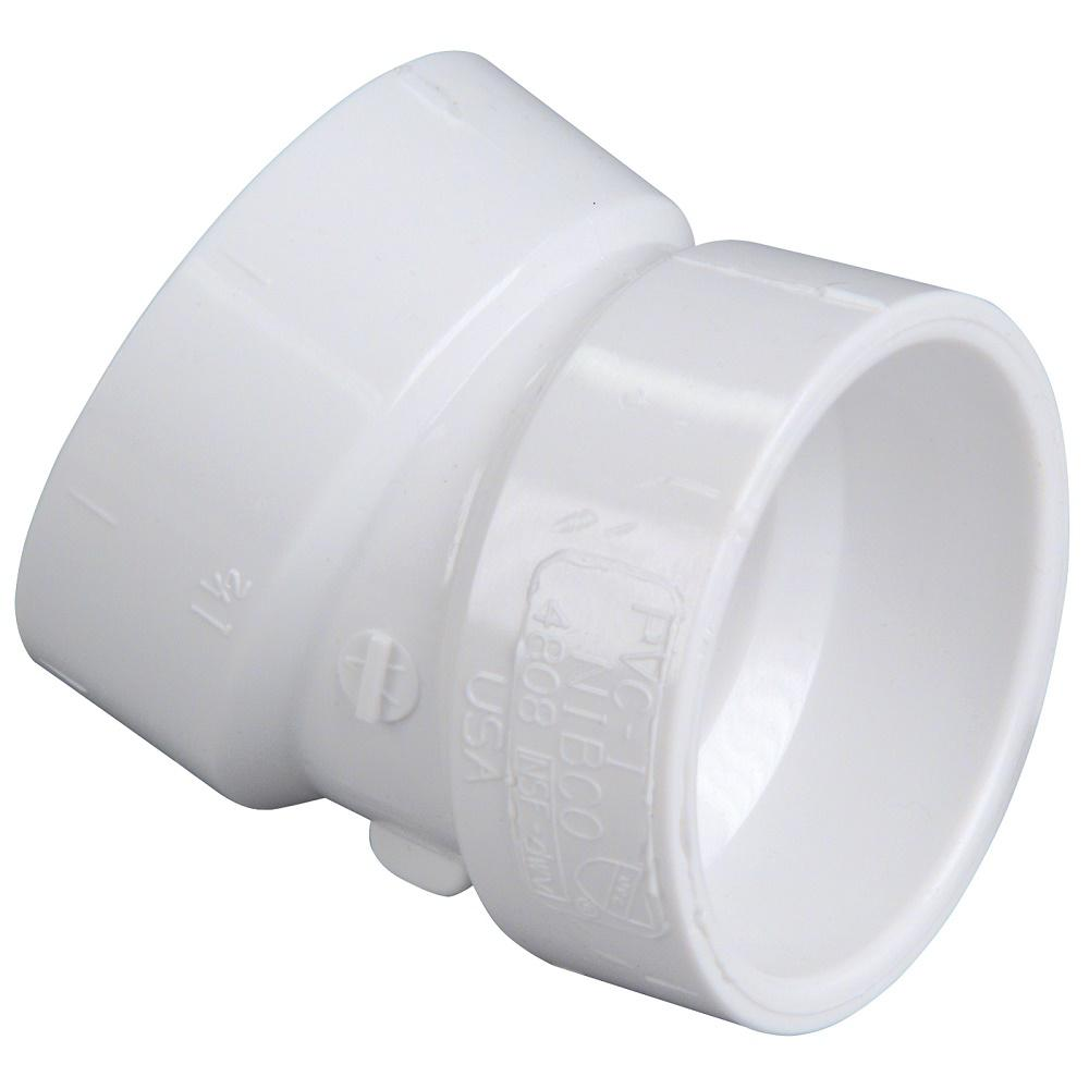 Sch. 40 1-1//4 PVC Pack of 20 22.5 Elbow