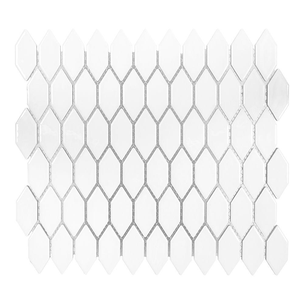 Jeffrey court dovetail white 10 34 in x 12 18 in x 8 mm jeffrey court dovetail white 10 34 in x 12 18 in x 8 mm ceramic mosaic tile 99333 the home depot dailygadgetfo Choice Image