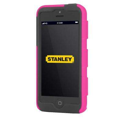 Foreman iPhone 5 Rugged 2-Piece Smart Phone Case Pink and Black