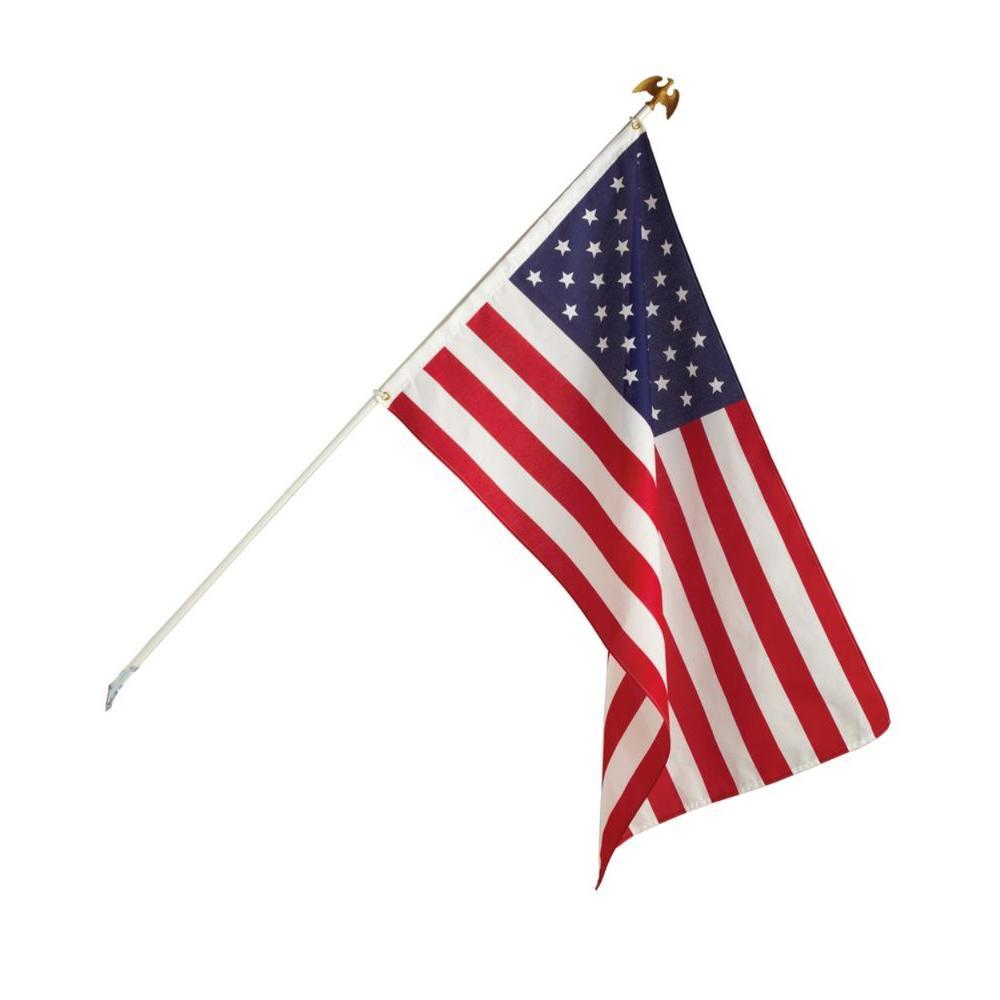 Seasonal Designs 3 Ft X 5 Ft U S Flag Kit Us200 The