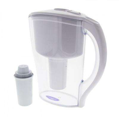 10 in. x 5 in. Clear Water Filter Pitcher