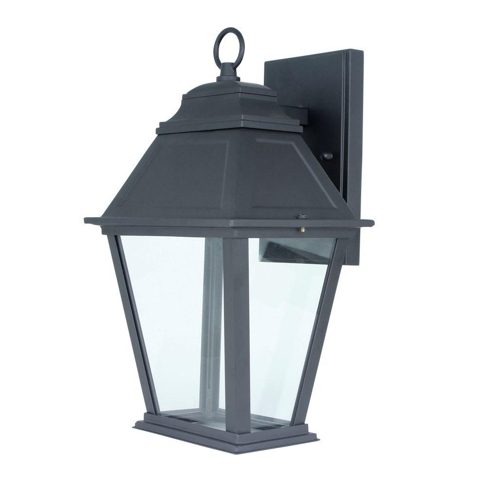 Feit Electric 12-Watt Oil Rubbed Bronze Outdoor LED Wall-Mount Lantern (4-Pack)