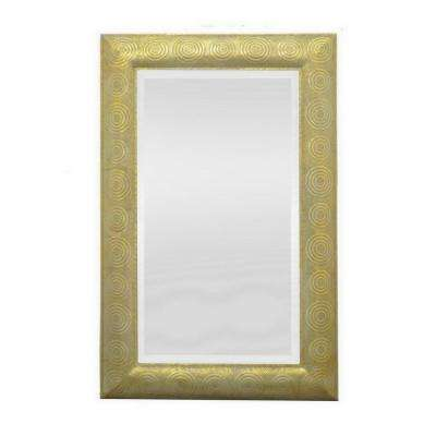 47.5 in. Metal Mirror in Gold