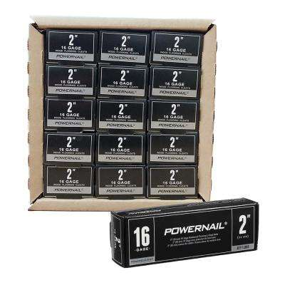 Powercleats 2 in. 16-Gauge Hardwood Flooring Nails 15 Boxes of 1,000