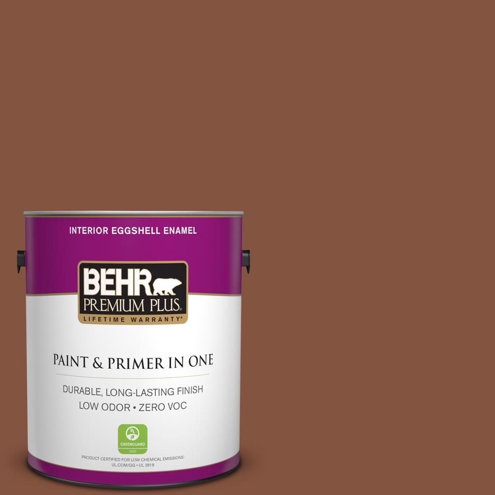 BEHR Premium Plus 1-gal. #S210-7 October Leaves Eggshell Enamel Interior Paint