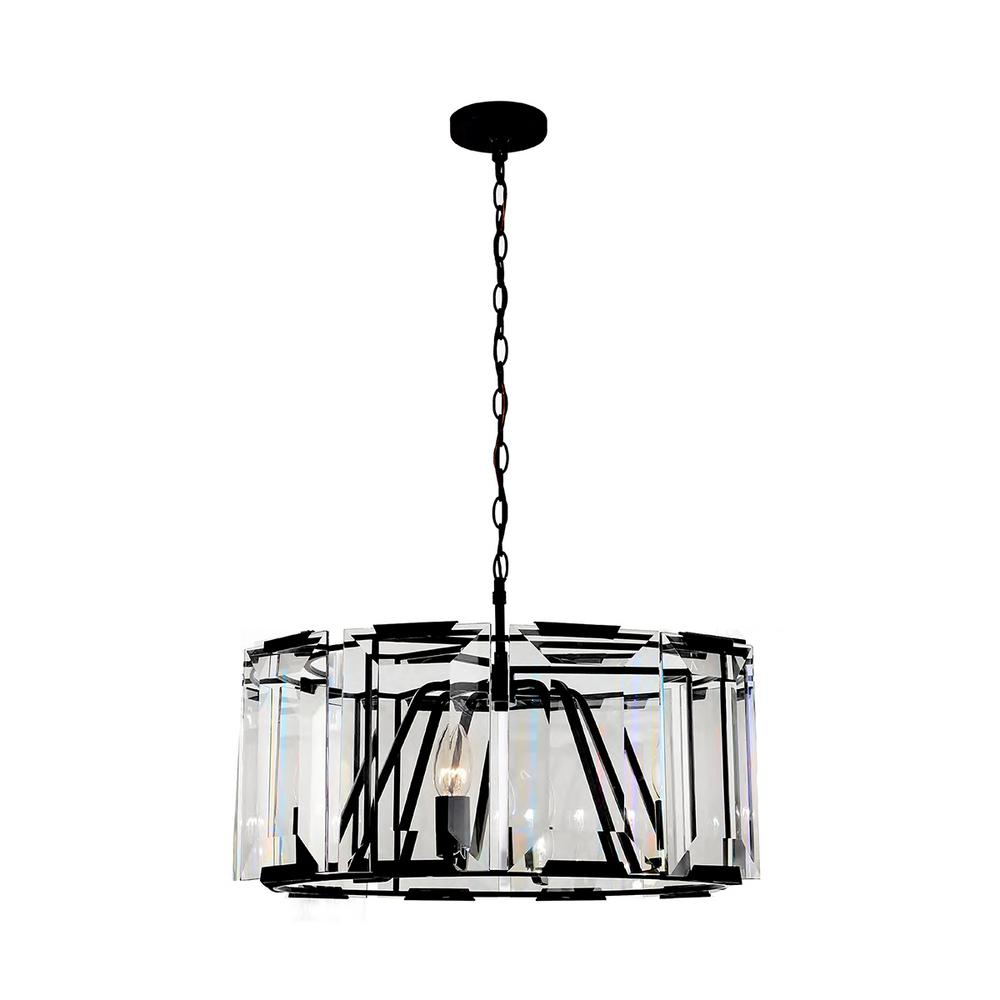 4 light pendant ellis easylite 4light satin black pendant pendant32435hb the home depot