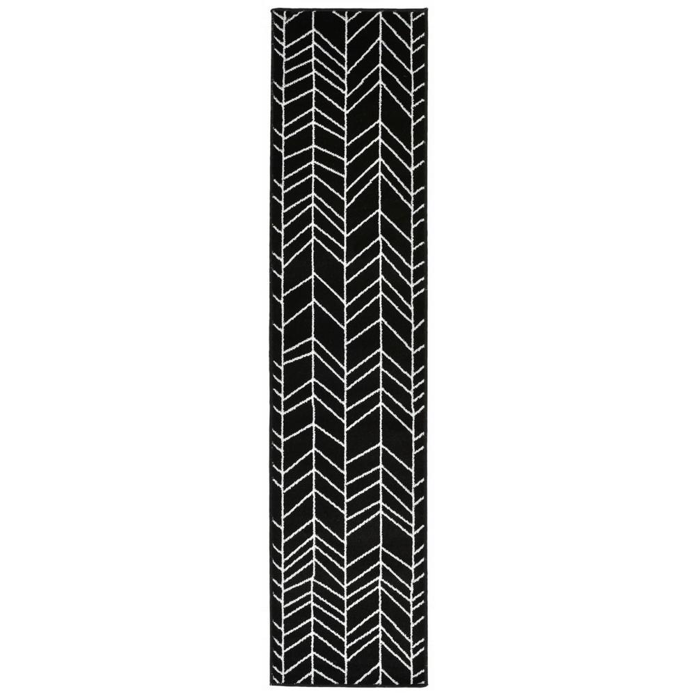 Larson Channel Black 1 ft. 8 in. x 7 ft. 3