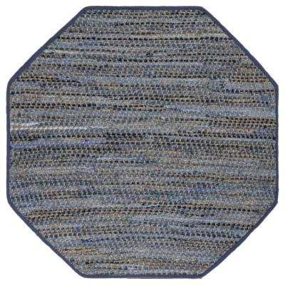 Blue Jeans 8 ft. x 8 ft. Octagon Area Rug