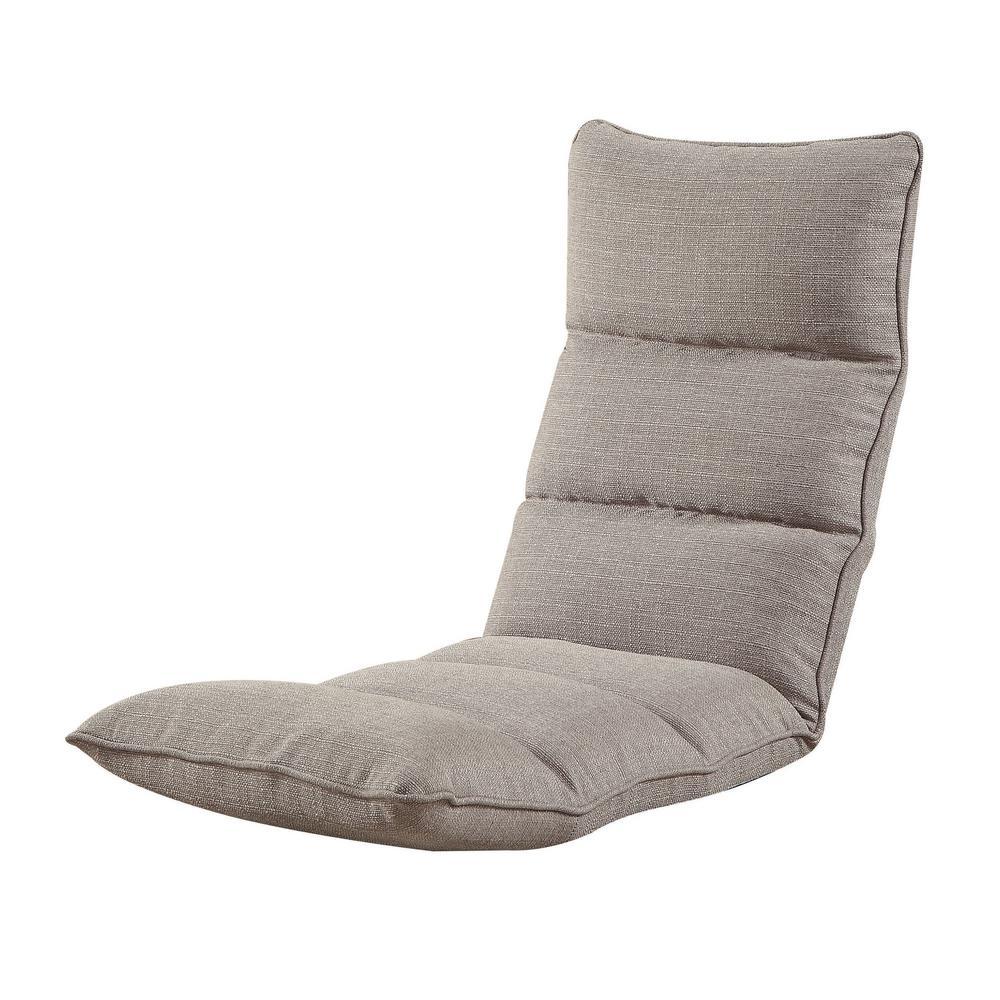 ACME Smoky Gray Morris Gaming Floor Chair