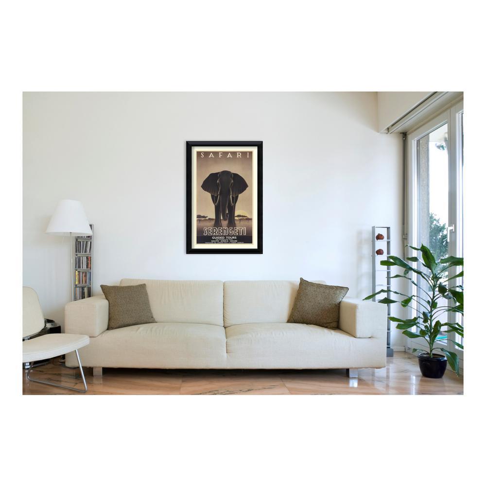 H U0027Serengetiu0027 By Steve Forney Printed Framed Wall Art